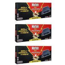 Mortein Baratas Inseticida Iscas 6x21g (Kit C/03) -