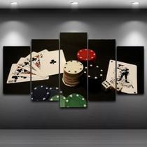 Mosaico 5 Peças Mdf 6mm Poker 12 - Neyrad
