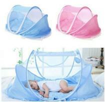 Mosquiteiro Berço Tenda Cama Cercadinho Portátil Dobrável Bebê -