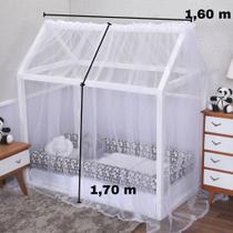 Mosquiteiro para Casinha Montessoriana Mini Cama 1,60 x 1,70 - Loja Baby