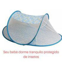 Mosquiteiro tenda portátil azul bebê menino M1 - Color Baby
