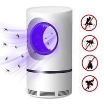 Mosquito Killer Lâmpada LED UV Armadilha Eletrônica Anti Mosquito BRANCA - Outros