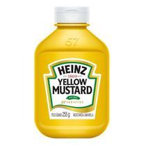Mostarda Amarela Heinz 255g -