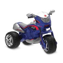 Moto Elétrica - 12V - Super Moto GT Turbo - Azul - Bandeirante -