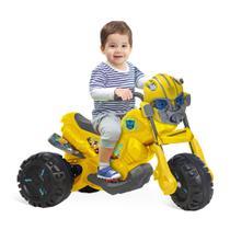 Moto Elétrica 6V - Transformers - Bumblebee - Bandeirante -