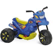 Moto Elétrica 6V XT3 Azul 2700 Bandeirante -