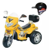 Moto Elétrica Grande Infantil Som E Luz Sprint Turbo 12v - Biemme
