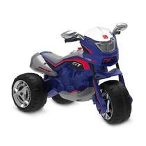 Moto Eletrica GT/GT2 Turbo 12V AZUL Bandeirante -Novo Design - Brinquedos bandeirante