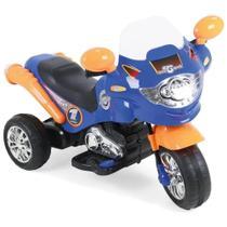 Moto Elétrica Homeplay Speed Chopper Azul - 248 -