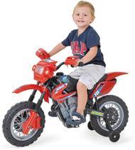 Moto Eletrica INFANT Motocross 6V. Vermelha Unidade Homeplay -