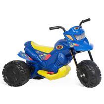 Moto Elétrica Infantil Bandeirante Xt3 6v Azul -