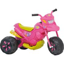 Moto Elétrica Infantil Bandeirante XT3 - EL 6V - Fashion Rosa -
