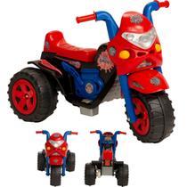 Moto Eletrica Infantil Biemme GP Raptor Spider Vermelha 6V -