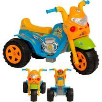 Moto Eletrica Infantil Biemme GP Raptor Super Boy Azul 6V -