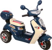 Moto Elétrica Infantil Lambreta Azul - Bel Brink -