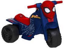 Moto Elétrica Infantil Marvel Homem Aranha - 2 Marchas 6V Bandeirante