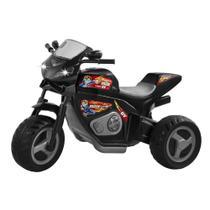Moto Elétrica Infantil Max Turbo 6V Com Capacete E Farol - Magic Toys