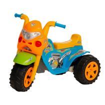Moto eletrica infantil meninos gp raptor super boy 6v com luz e som - Biemme