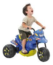 Moto Elétrica Infantil - Moto XT3 - 6V - Azul - Bandeirante -