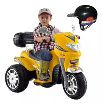 Moto Elétrica Infantil Som E Luz Sprint Turbo 12v - Biemme