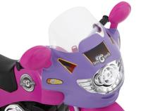 Moto Elétrica Infantil Speed Chooper  - com Som de Motor - Homeplay