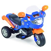 Moto Elétrica Infantil Speed Chopper Azul - Homeplay