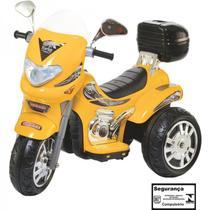 Moto Elétrica Infantil Sprint Turbo Amarelo 12V - Biemme -