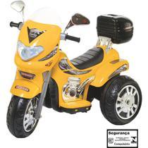Moto Elétrica Infantil Sprint Turbo Amarelo 12V Biemme -
