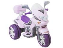 Moto Elétrica Infantil Sprint Turbo Rosa - 2 Marchas Biemme