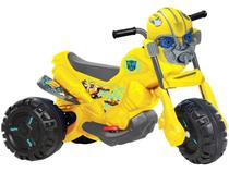Moto Elétrica Infantil Transformers 3354 - 2 Marchas 6V Bandeirante