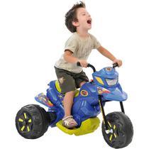 Moto Elétrica Infantil XT3 Azul 6V - Bandeirante -