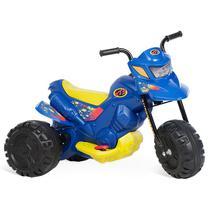 Moto Elétrica Infantil XT3 Azul Bandeirante -