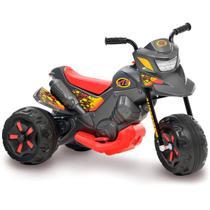 Moto elétrica infantil xt3 grafite eletrica 6v - Bandeirante