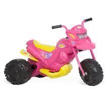 Moto elétrica infantil xt3 rosa menina 6v - Bandeirante