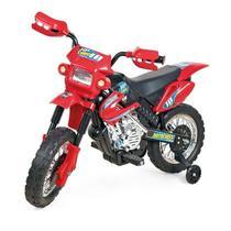 Moto Elétrica Motocross Vermelho - Homeplay