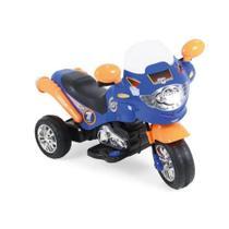 Moto Elétrica Speed Chopper 6V Azul - Xplast