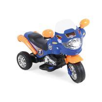Moto Elétrica Speed Chopper Azul Homeplay -