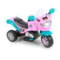 Moto Elétrica Speed Chopper Pink Homeplay -