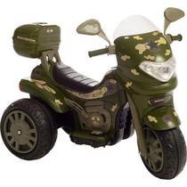 Moto Elétrica Sprint Turbo Militar 12V C/Capacete 672 - BIEME - Biemme