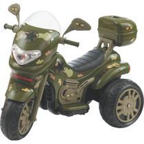 Moto Eletrica SPRINT Turbo Militar Biemme 12V com Capacete -