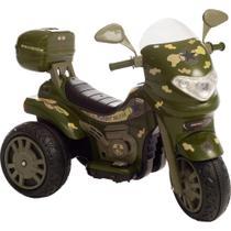 Moto Elétrica - Sprint Turbo Militar com Capacete - Biemme -