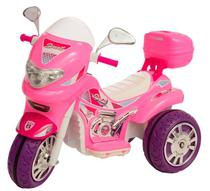 Moto Elétrica - Sprint Turbo Pink com Capacete - Biemme -