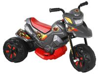 Moto Elétrica XT3 6V Grafite  - Bandeirante -