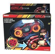 Moto Lancadora - Fly Wheels - Gsa Spin - Firewalker Candide - Brinquedos