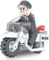 Moto Policia 26PCS - Xalingo -