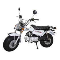Moto RETROLINE T-REX 125cc DropBoards Branco -