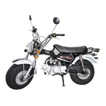 Moto RETROLINE T-REX 125cc DropBoards Preto -