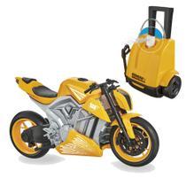 Moto Sport com Lavadora que sai agua - Usual Brinquedos