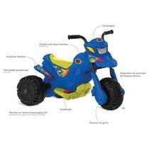 Moto XT3 Azul Elétrica 6V - Bandeirantes 2700 -