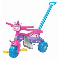Motoca Love Unicórnio c LuzTico Tico Aro Proteção Infantil - Magic Toys